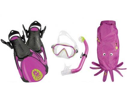 Dětský šnorchlovací set Mares Sea Friends chobotnice