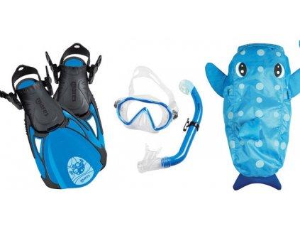 Dětský šnorchlovací set Mares Sea Friends delfín