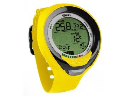 Potápěčský počítač Mares Puck Pro žlutý