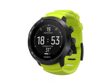 Potapecske hodinky Suunto D5 limetkove