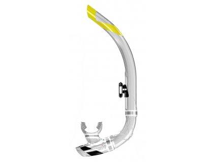 Šnorchl Atomic Aquatics SV1 Contour transparentní/černý