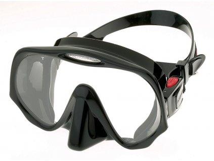Maska Atomic Aquatics Frameless černá