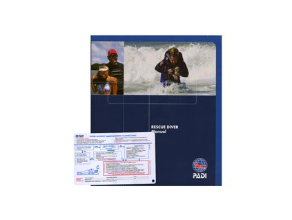 PADI Rescue Diver manuál CZ verze