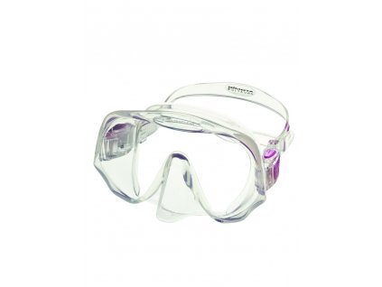 Maska Atomic Aquatics Frameless MEDIUM clear/fialová