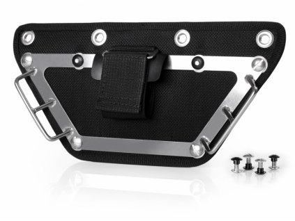 Finnsub FLY SIDE Butt plate black