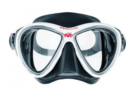 Maska Hollis M-3 černá/bílá