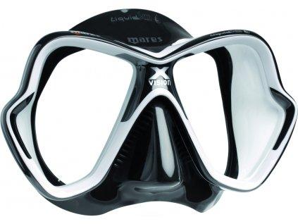 Maska Mares X-Vision Liquidskin Ultra černá/bílá