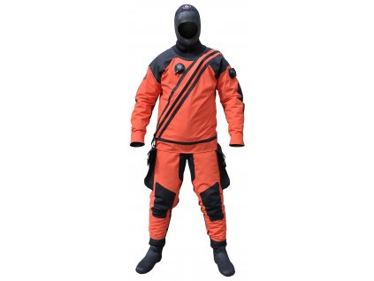 Suchý oblek URSUIT Heavy Light Kevlar BDS Orange