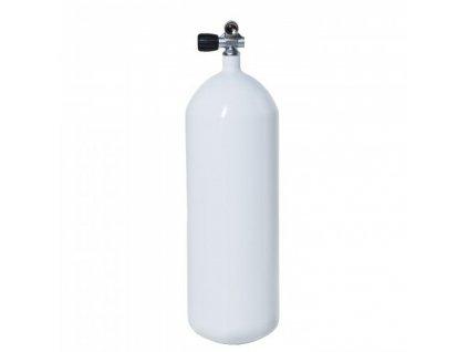 Láhev ocelová Vítkovice 15 L 230 bar + monoventil