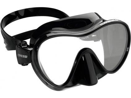 Potápěčská maska Cressi F1 Frameless černá