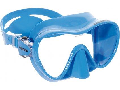 Brýle na potápění Cressi F1 Frameless modrá