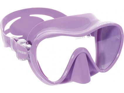 Potápěčské brýle Cressi F1 Small Frameless fialová