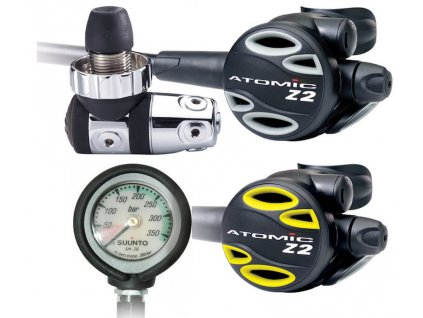 Set Atomic Aquatics Z2 + octopus + manometr