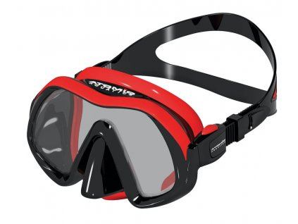 Potapecska maska Atomic Aquatics Venom Frameless red