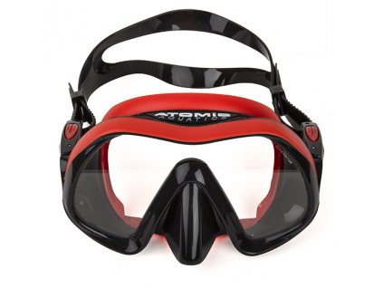 Maska Atomic Aquatics Venom Frameless Red