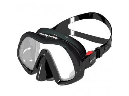 Potapecska maska Atomic Aquatics Black Venom Frameless