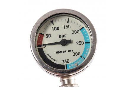 Manometr Mares XR SPG52 hadice 15cm Miflex Oxygen