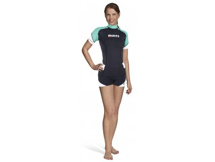 Lycrové tričko Mares RASH GUARD trilastic dámské s krátkým rukávem