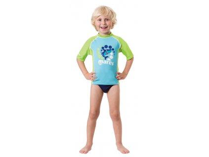 Lycrové tričko Mares RASH GUARD trilastic dětské chlapecké