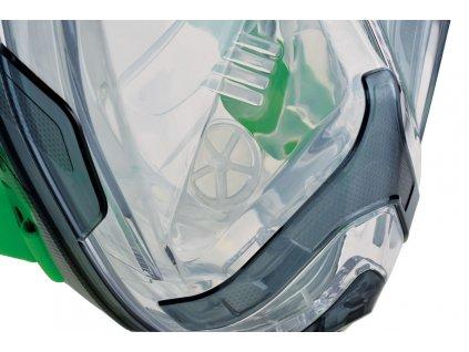 Seac Unica Lime celoobličejovka na šnorchlování