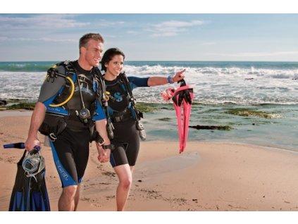 Dárkový certifikát na kurz potápění PADI OWD pdf.
