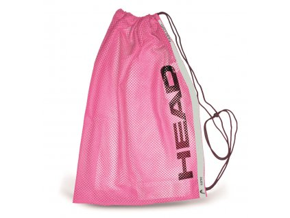 Head mesh bag training pink