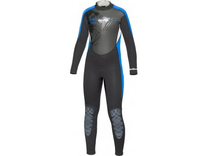 Detsky neopren Bare manta junior blue