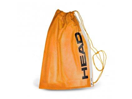 Head Mesh bag orange