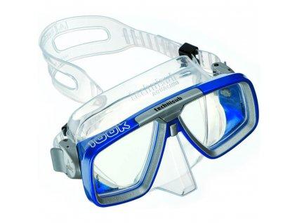 potapecska maka Aqualung Look transparentni modra 2