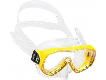 Maska Cressi Piumetta dětská žlutá