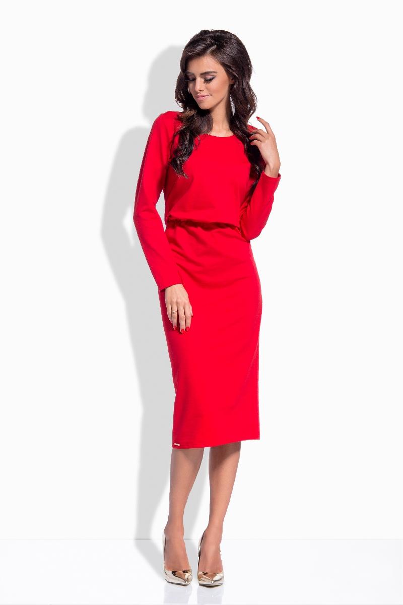 7647b2f76d8 Pletené šaty  Podzimní a zimní šaty