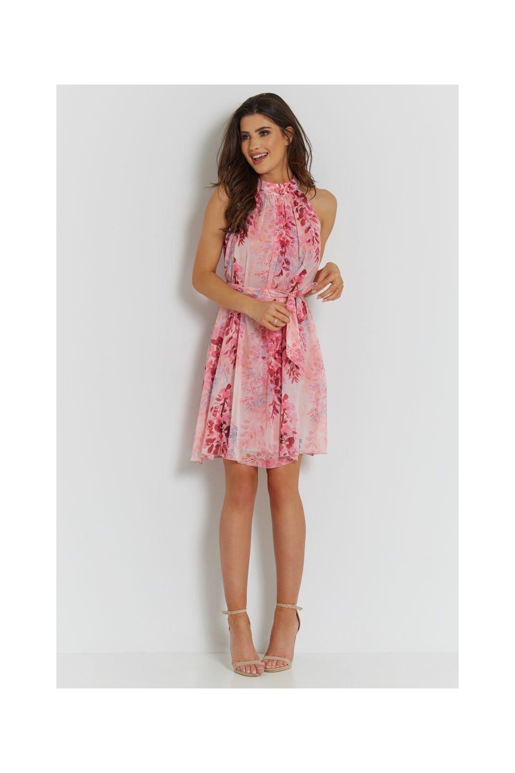 sukienka 281 LIV różowy (8)