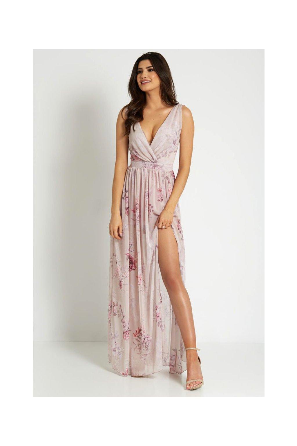 Sukienka 295 IVON róż (4)