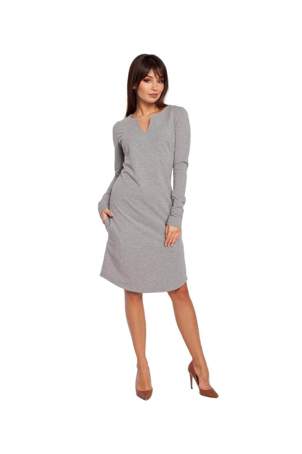 Dámské šaty Be B017 zelené - SD-Fashion.cz 3647b9e1460