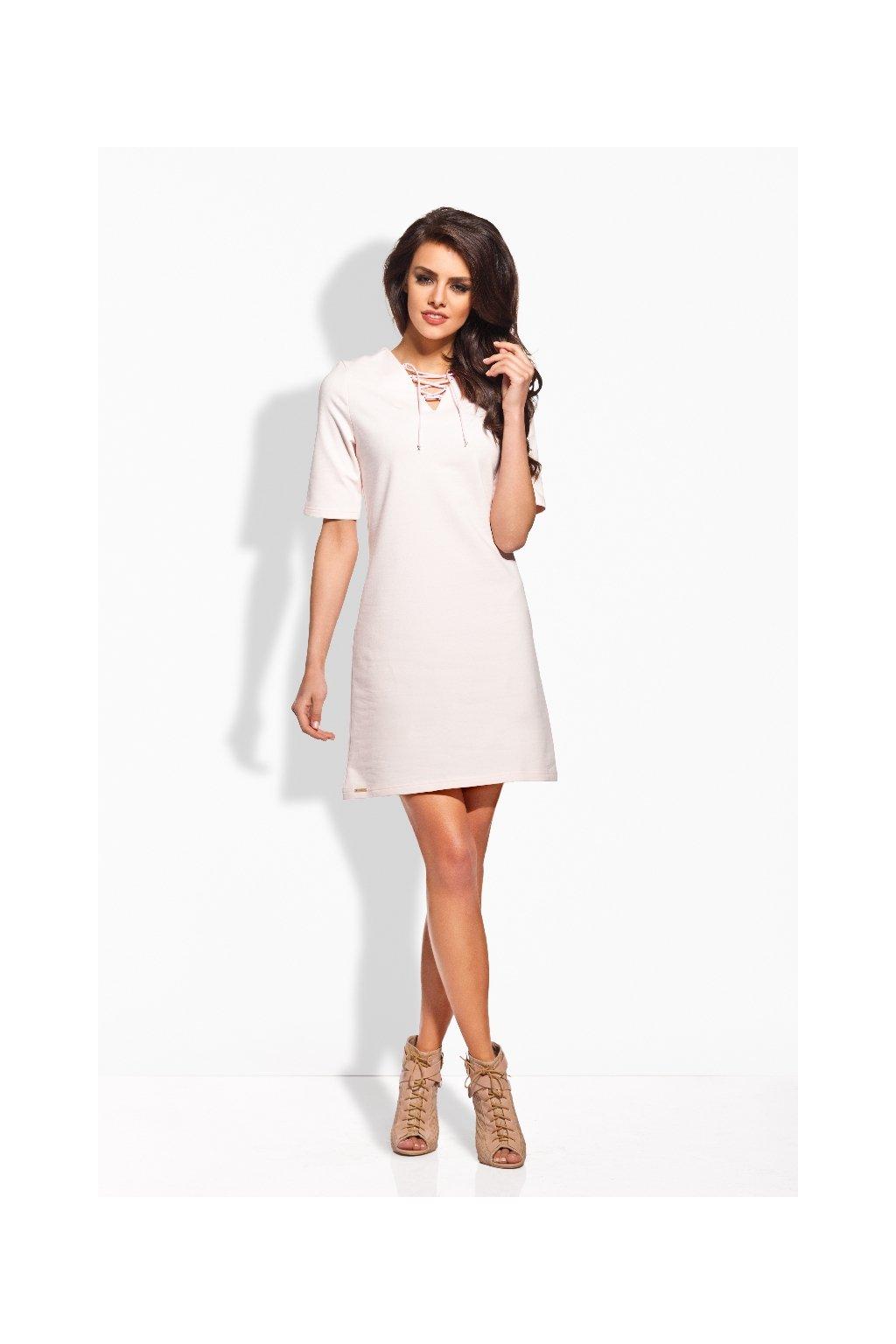 Dámské šaty Lemoniade L120 růžové