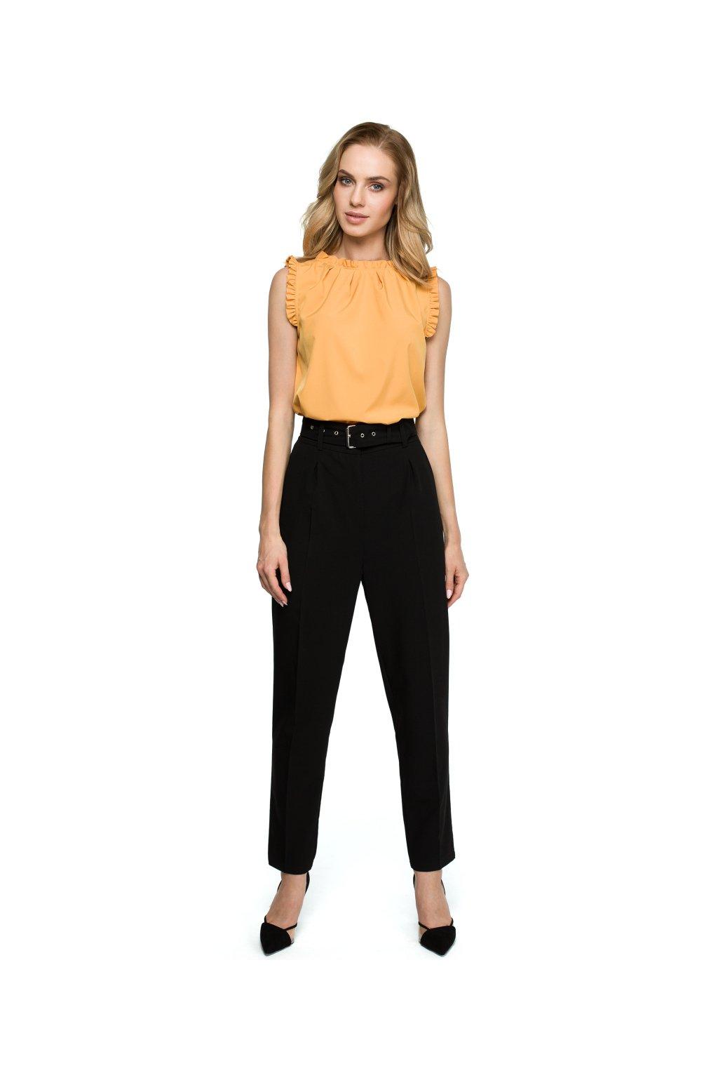 s124 Cerne kalhoty 1
