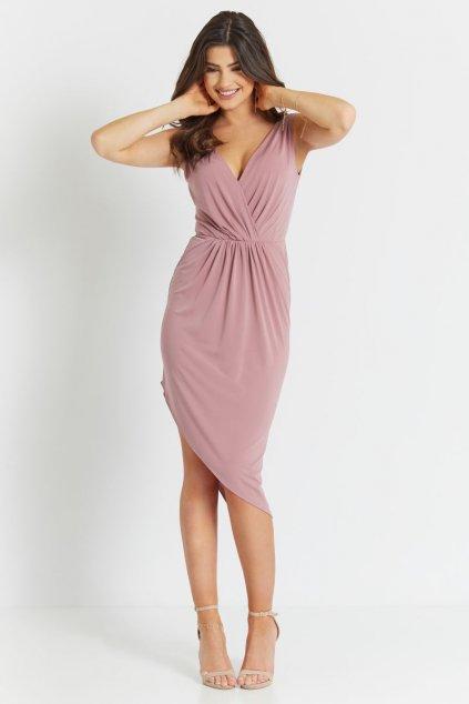 sukienka 283 GAJA wrzosowy (3)