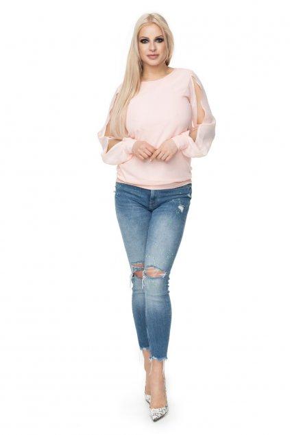Šifonový top PeeKaBoo 0121 růžový