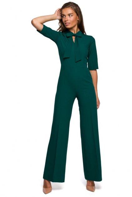 Elegantní overal Style S243 zelený
