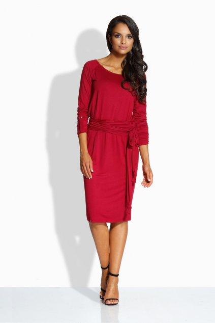 Dámské šaty Envy Me EM124 červenohnědé zepředu