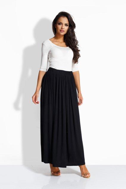 Dámské dlouhé šaty Envy Me EM113 černobílé