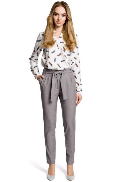 m363 Elegantni kalhoty sede 1