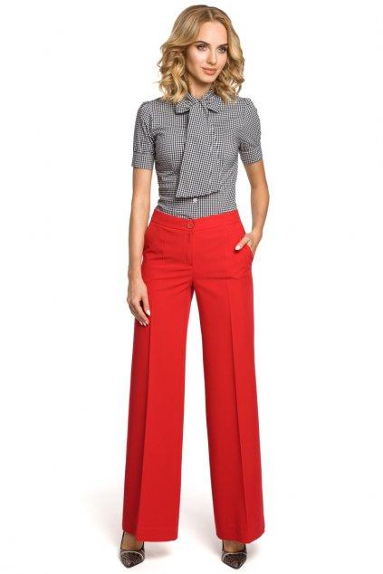 m323 Siroke kalhoty cervene 1