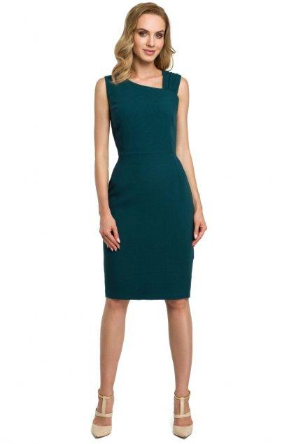 m397 Elegantni saty zelene 1