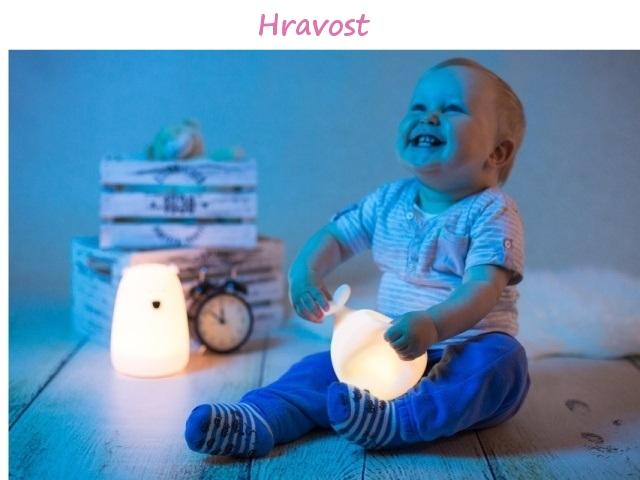 Lampičky měnící barvy