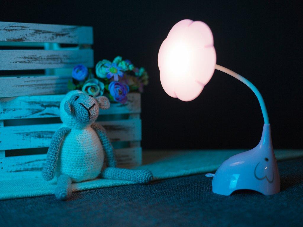 Noční lampička sloneček