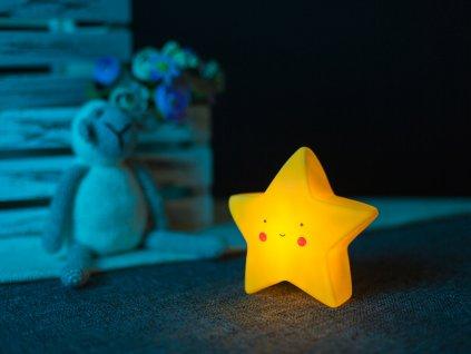Noční lampička hvězdička