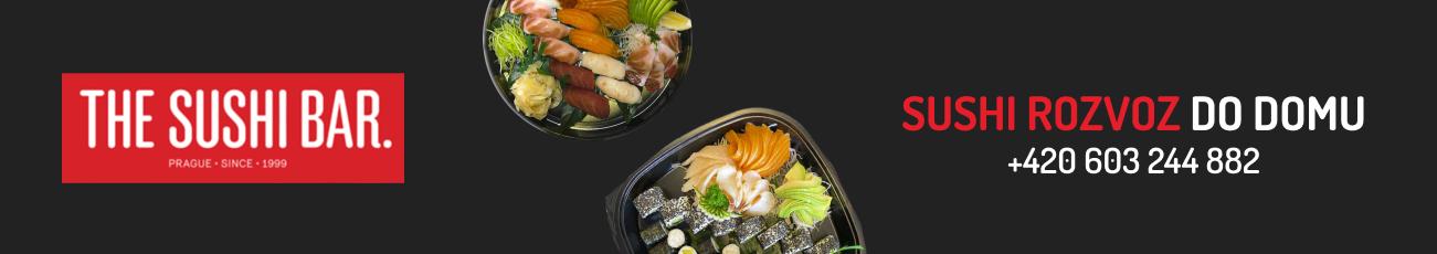Sushi rozvoz do domu