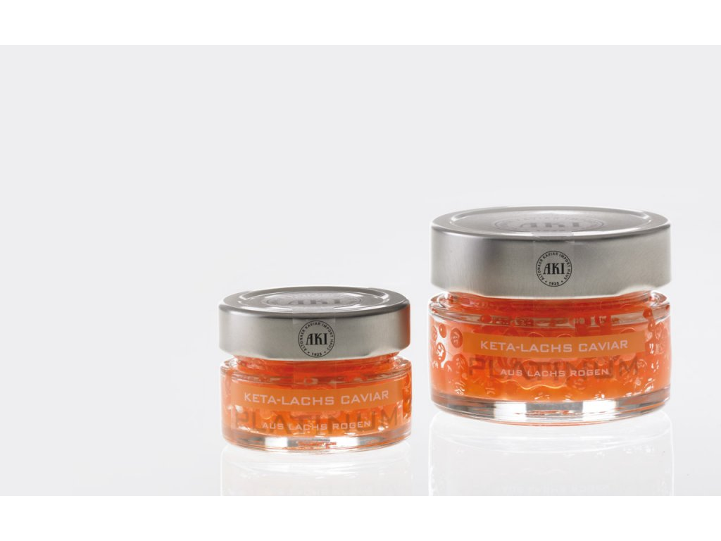 AKI Platinum Keta Lachs Caviar 50g cena 330,