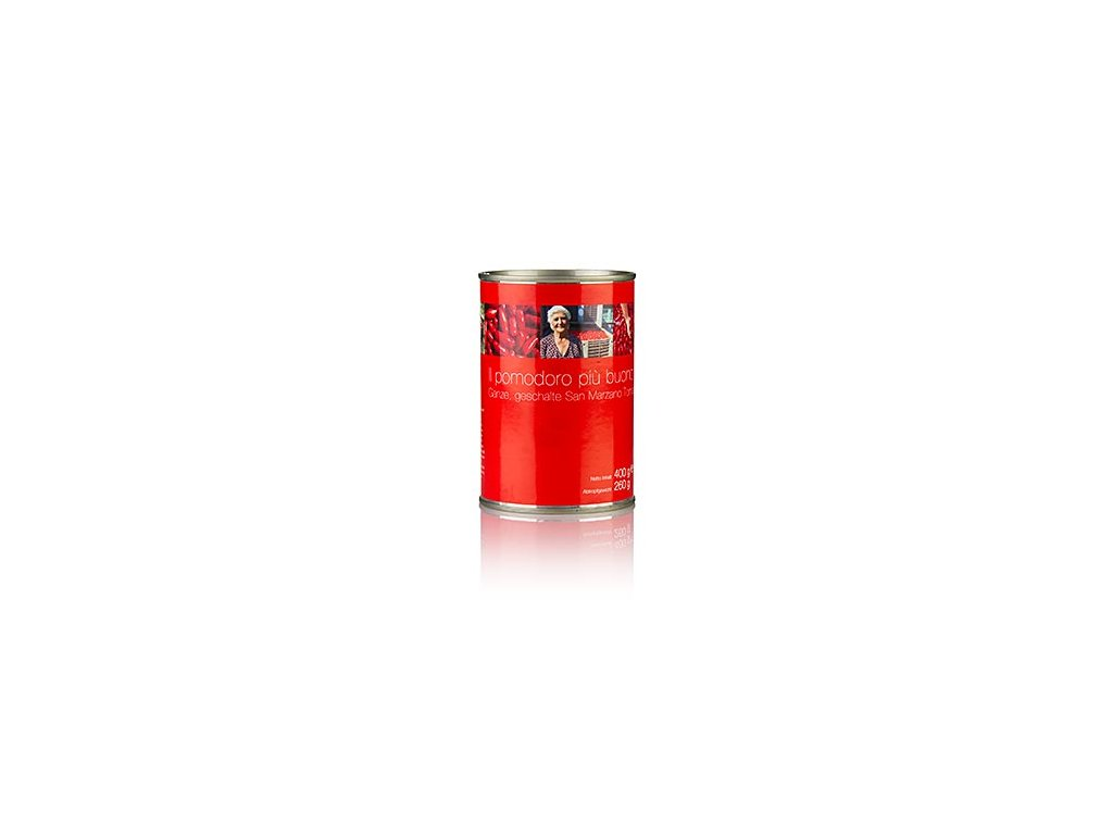 Loupaná rajčata san marzano 400g